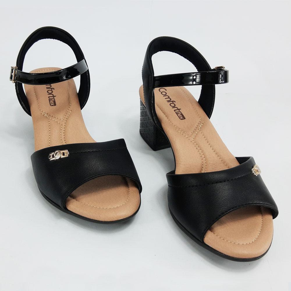Sandália Feminina Comfort Flex  -  FlexPé Calçados