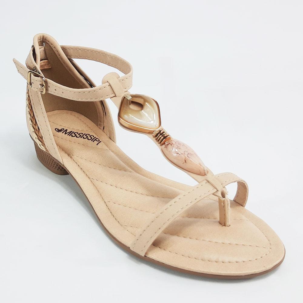 Sandália Feminina Mississipi  -  FlexPé Calçados