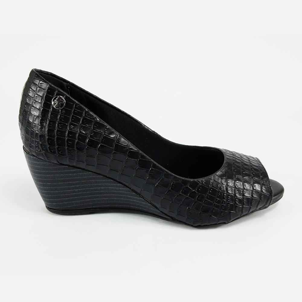 Sandália Feminina Peep Toe Bottero   -  FlexPé Calçados