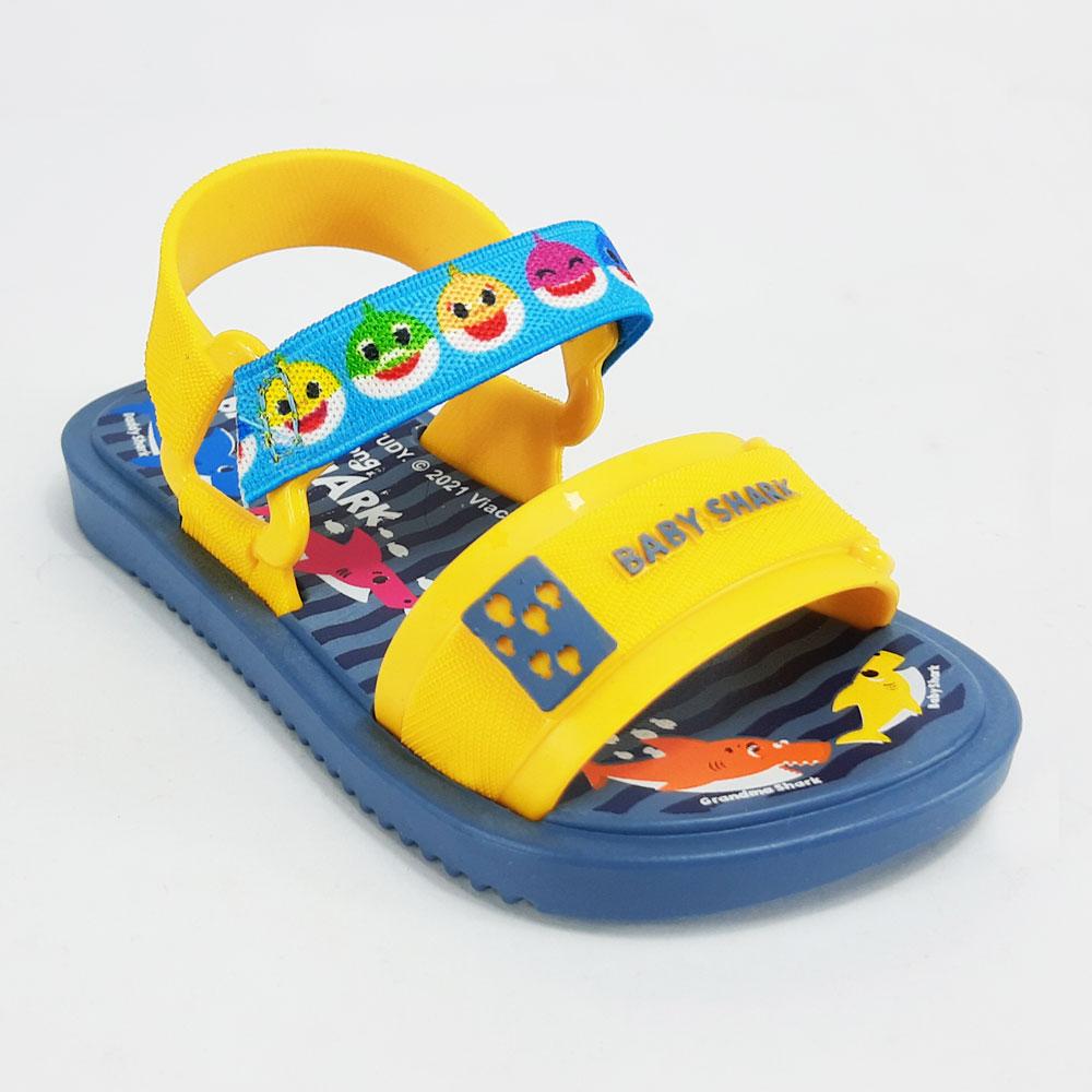 Sandália Infantil Grendene Baby Shark  -  FlexPé Calçados
