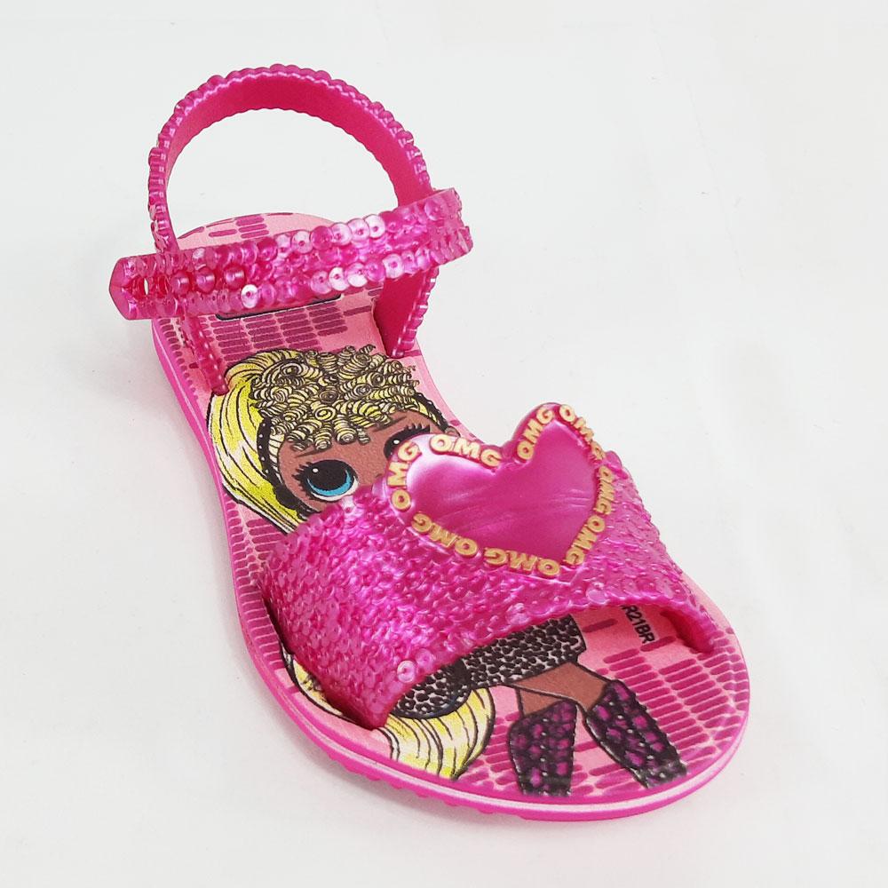 Sandália Infantil Grendene LOL OMG Boombox  -  FlexPé Calçados