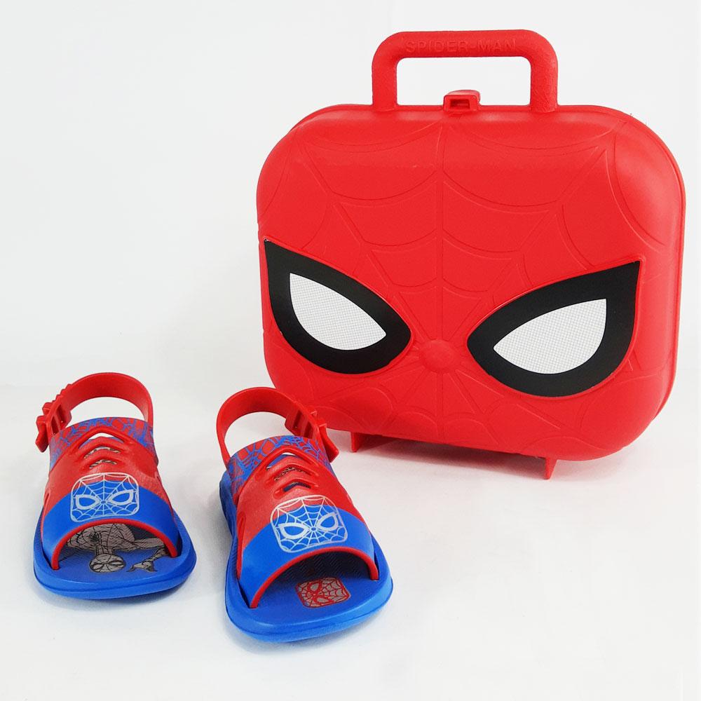 Sandália Infantil Grendene Marvel Hero Case  -  FlexPé Calçados