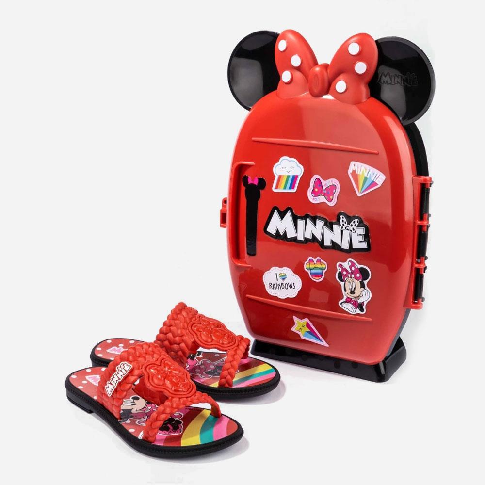 Sandália Infantil Grendene Minnie Geladeira  -  FlexPé Calçados