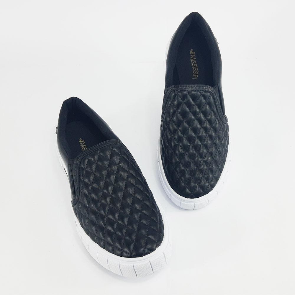 Tênis Casual Feminino Mississipi  -  FlexPé Calçados