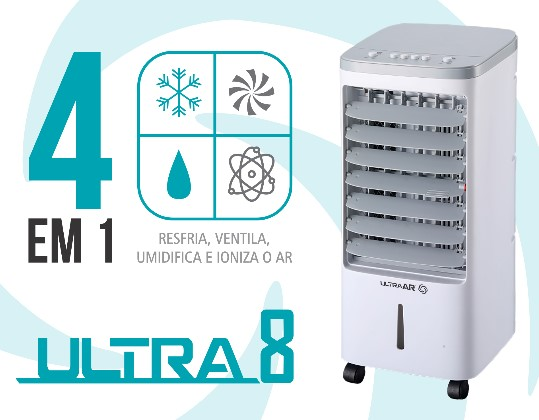 Climatizador Portátil 4 litros Ultra Ar 220V