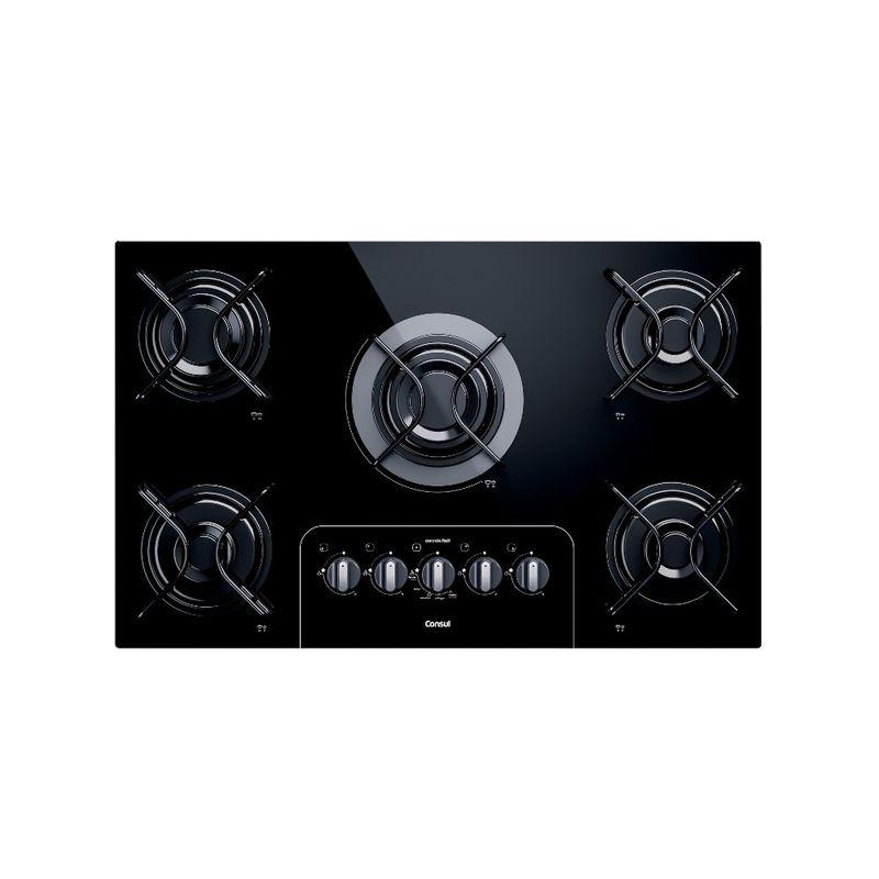 Cooktop 5 bocas Consul com controle fácil e acendimento automático