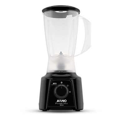 Liquidificador Arno Power Mix  2 Velocidades + Pulsar 550W Preto 220V