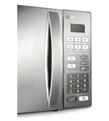 Microondas Consul 20 Litros cor Inox Espelhado com Função Descongelar 220v