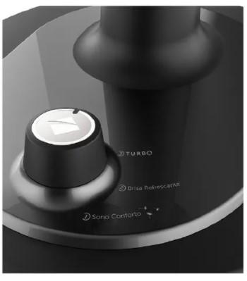 Ventilador 3 em 1 Cadence Turbo Conforto VTR470 preto com 6 pás, 42 cm de diâmetro 220 V