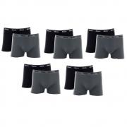 Kit 10 Cuecas Mash Box Masculina Adulto Algodão Boxer Cotton