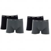 Kit 4 Cuecas Mash Box Masculina Adulto Algodão Boxer Cotton