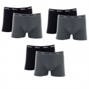Kit 6 Cuecas Mash Box Masculina Adulto Algodão Boxer Cotton