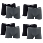 Kit 8 Cuecas Mash Box Masculina Adulto Algodão Boxer Cotton