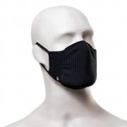 Kit com 2 Máscaras Lupo Zero Costura Adulto Vírus Bac-Off - Preto