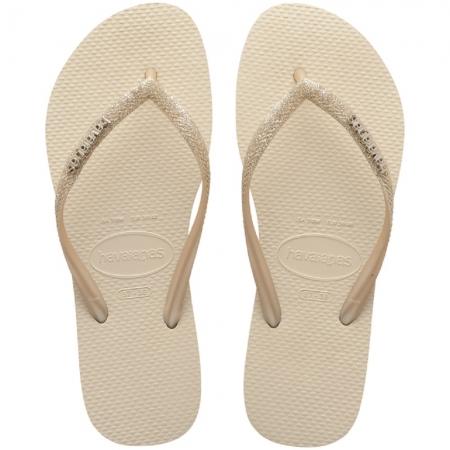 Sandália Chinelo Havaianas Slim Glitter Brilho