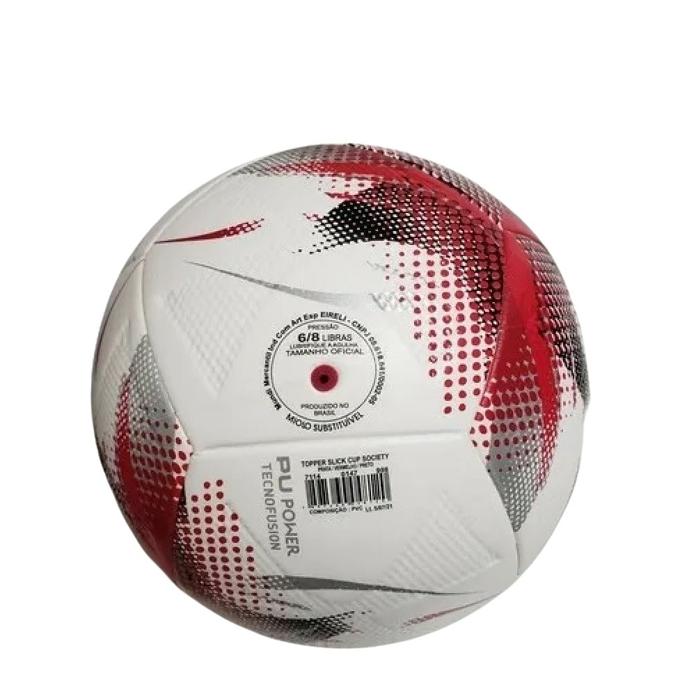 Bola Futebol Society Slick Cup Topper