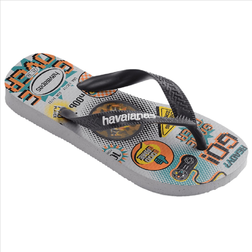 Chinelo Havaianas Kids Top Holographic