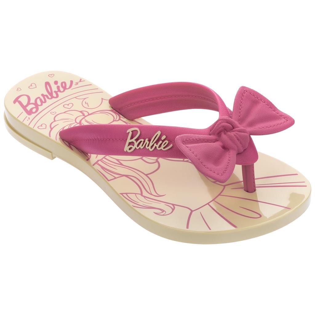 Chinelo Infantil Barbie Charme Rasteiro 22631