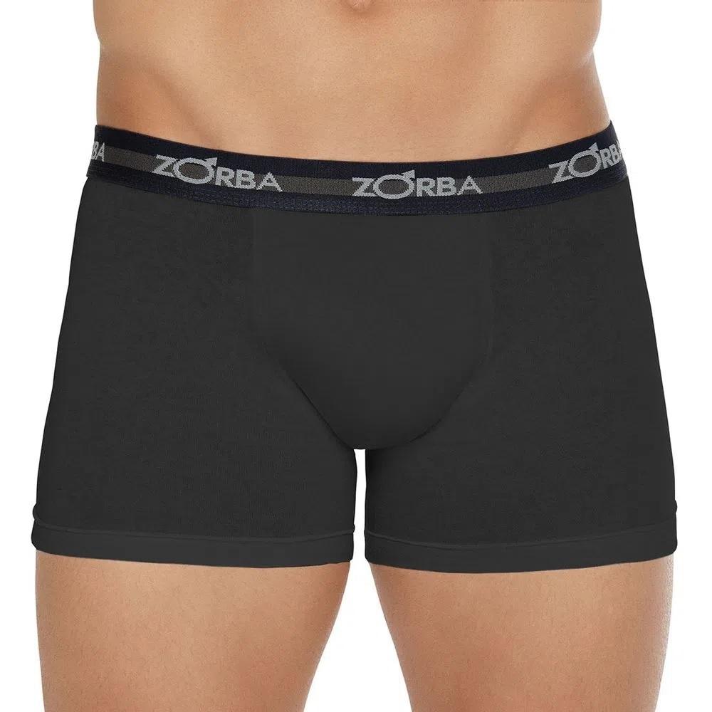 Cueca Zorba Boxer 702 100% Algodão Plus Size
