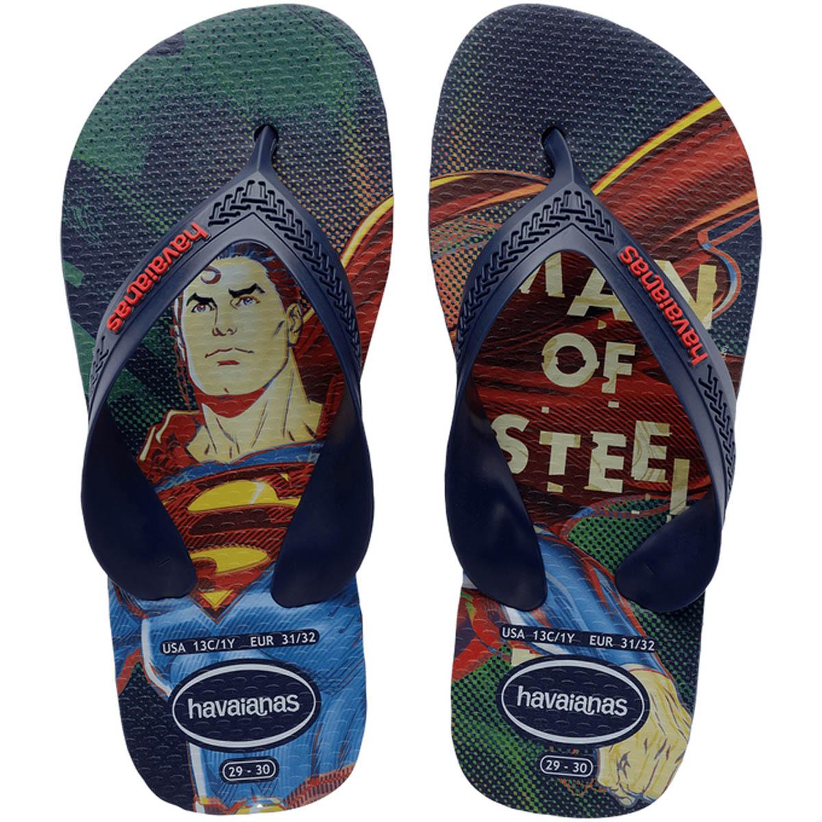 Havaianas Kids Max Heróis Super-Homem