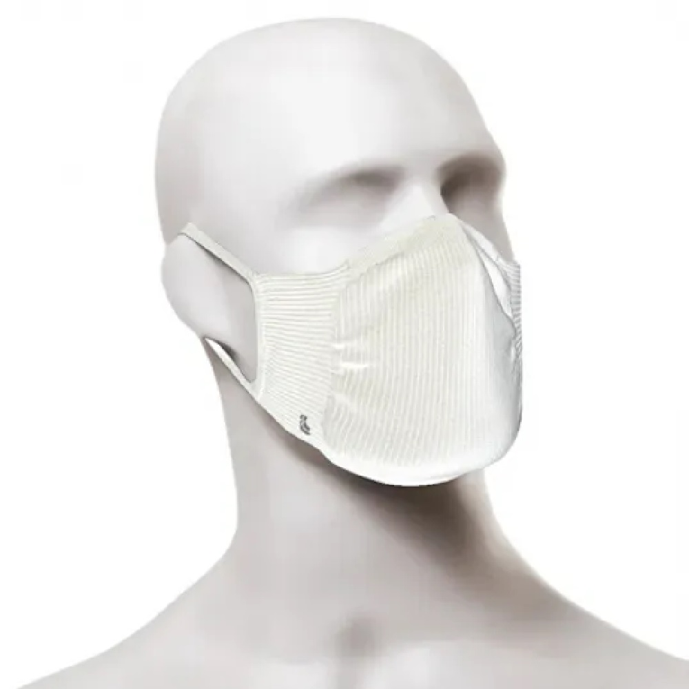 Kit com 2 Máscaras Lupo Zero Costura Adulto Vírus Bac-Off - Branco