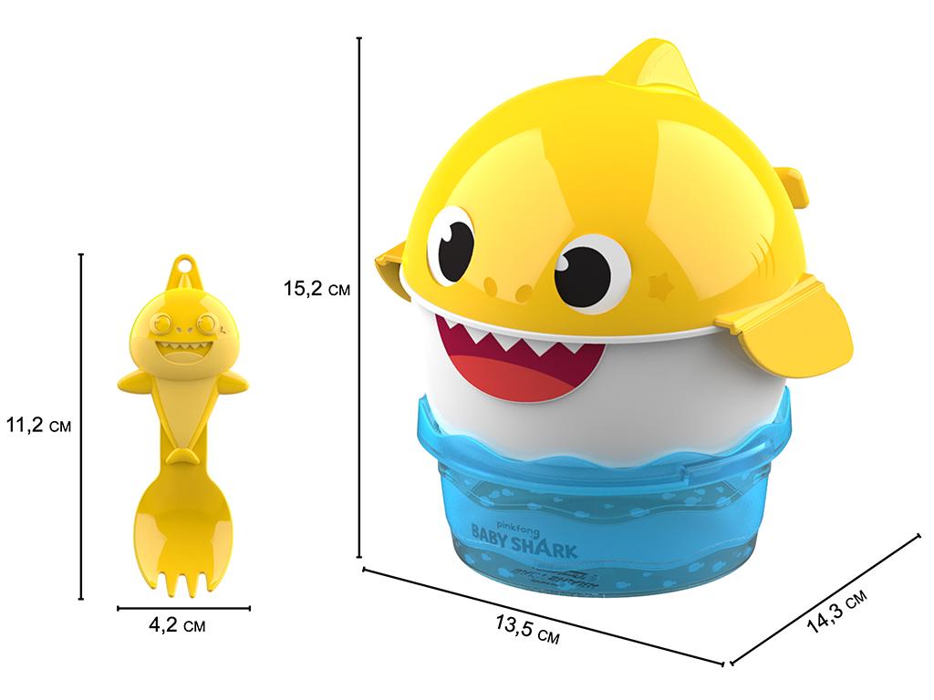 Sandália Baby Shark Lanchinho 22520