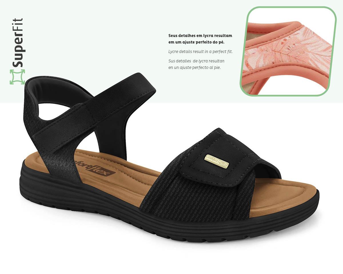 Sandália ComfortFlex Papete