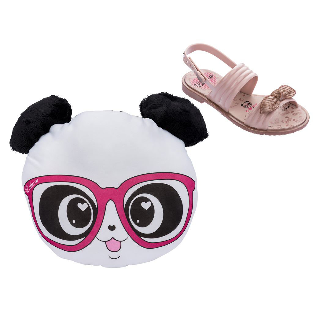 Sandália Infantil Luluca Panda Love
