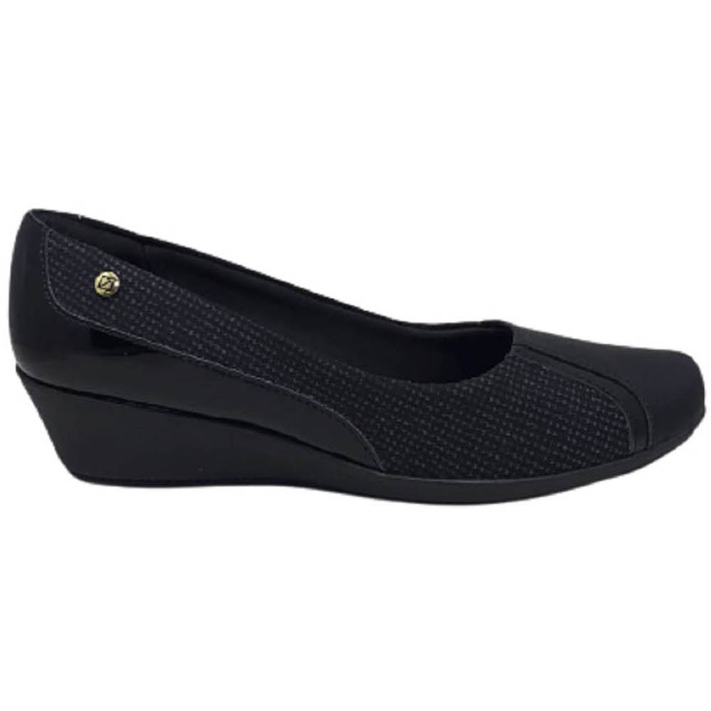 Sapato Anabela Médio Piccadilly Mosáico 144074