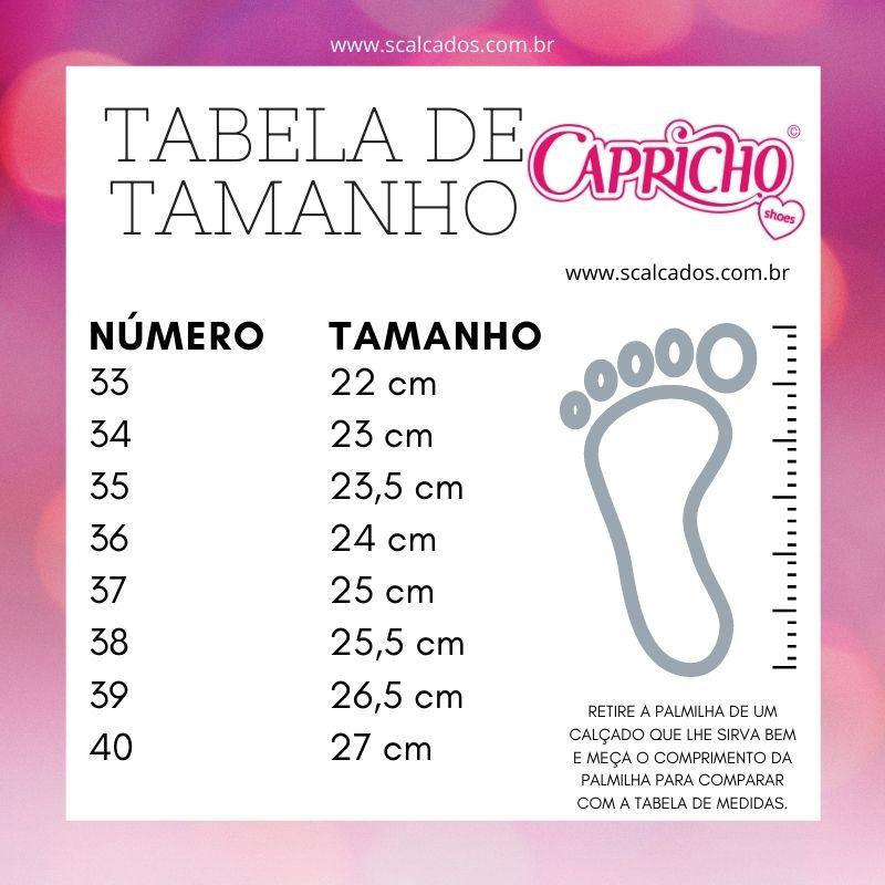Tênis Capricho Plataforma Likes Class