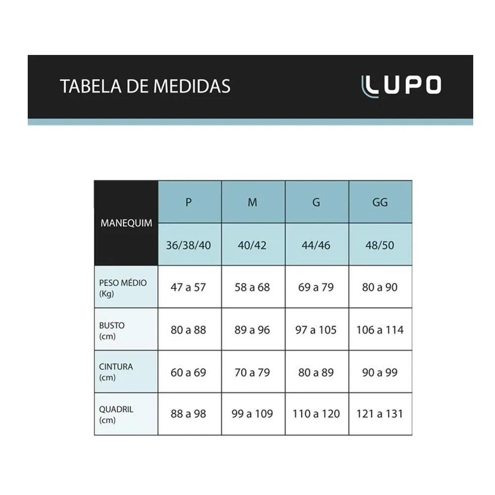 Top Lupo Challenge Alta Sustentação Sem Costura 71407 Sport