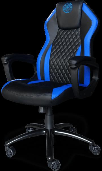 Cadeira Elements Elemental Acqua azul/preta