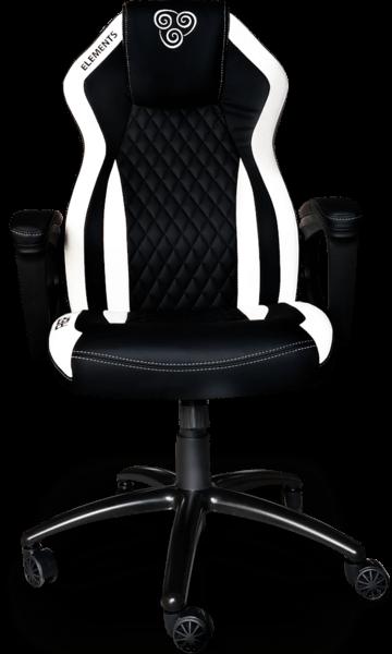 Cadeira Elements Elemental AER branca/preta