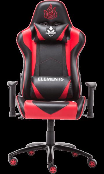 Cadeira Elements Veda IGNIS vermelha/preta