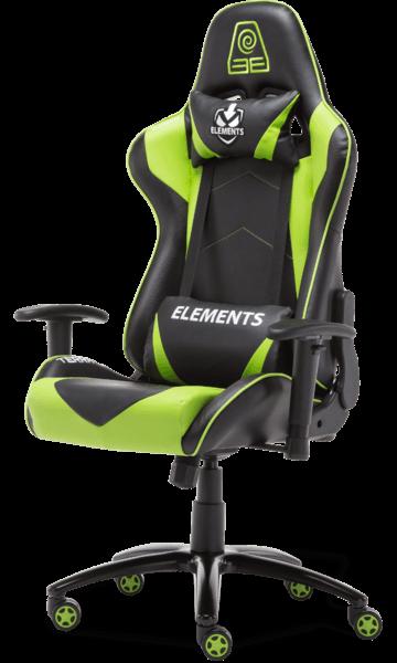 Cadeira Elements Veda TERRA verde/preta
