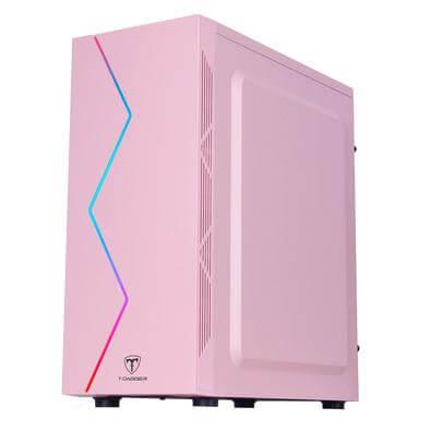 Gabinete Gamer TGC-P03P rosa