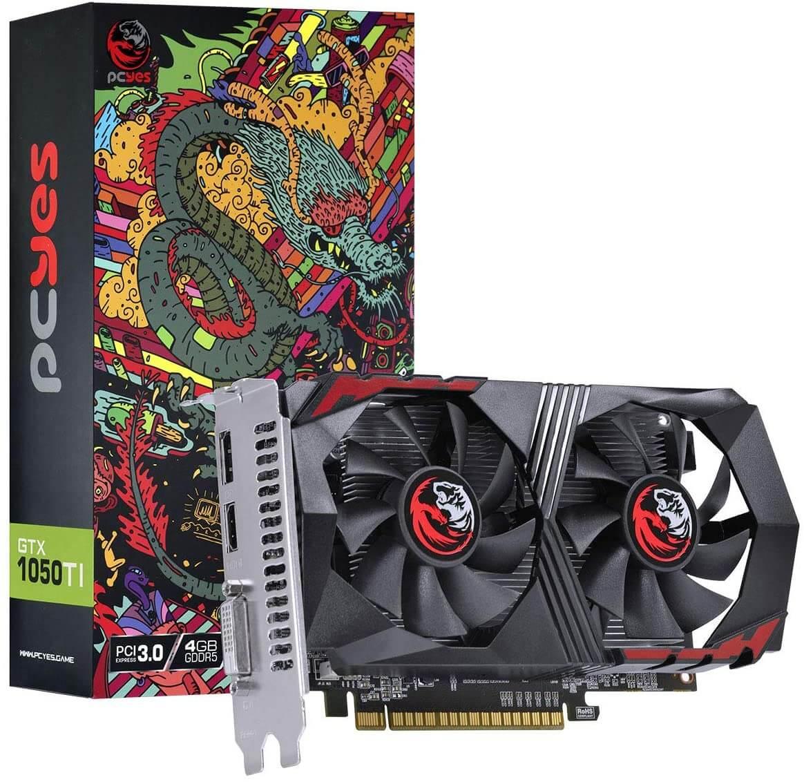 GPU GTX 1050 TI 4GB GDDR5 - Graffitti series