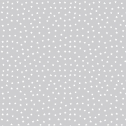 FABRICART - MINI ESTRELINHAS CINZA CANDY - 25cm X 150cm - Tecido Tricoline