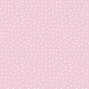 FABRICART - MINI ESTRELINHAS ROSA CANDY - 25cm X 150cm - Tecido Tricoline