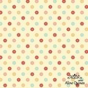 FABRICART - MULTICOLOR LITTLE FLOWERS - FLORES - 25cm X 150cm - Tecido Tricoline