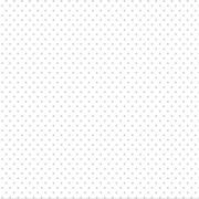 FABRICART - POÁ CINZA CANDY - 25cm X 150cm - Tecido Tricoline
