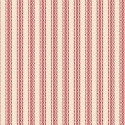FABRICART - Textura Listrada Vermelho Antigo - Basics Country - 25cm X 150cm - Tecido Tricoline