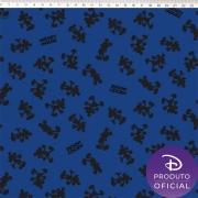 FERNANDO MALUHY - Coleção Disney MICKEY SILHUETA - 25cmX150cm - Tecido Tricoline