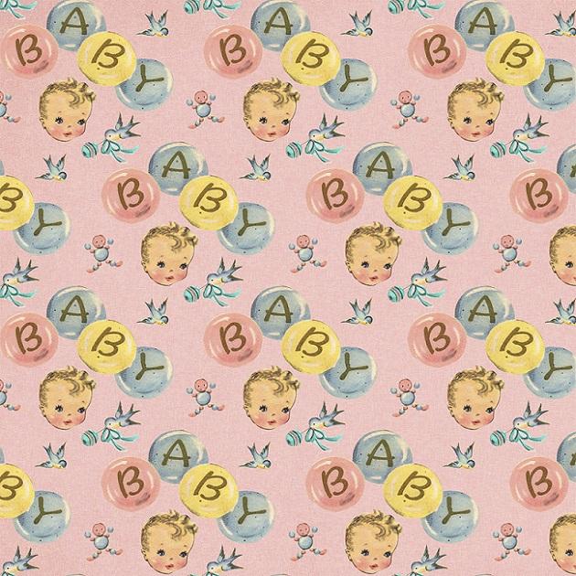 FABRICART - BABY FACE - DIGITAL - 25cm X 150cm - Tecido Tricoline