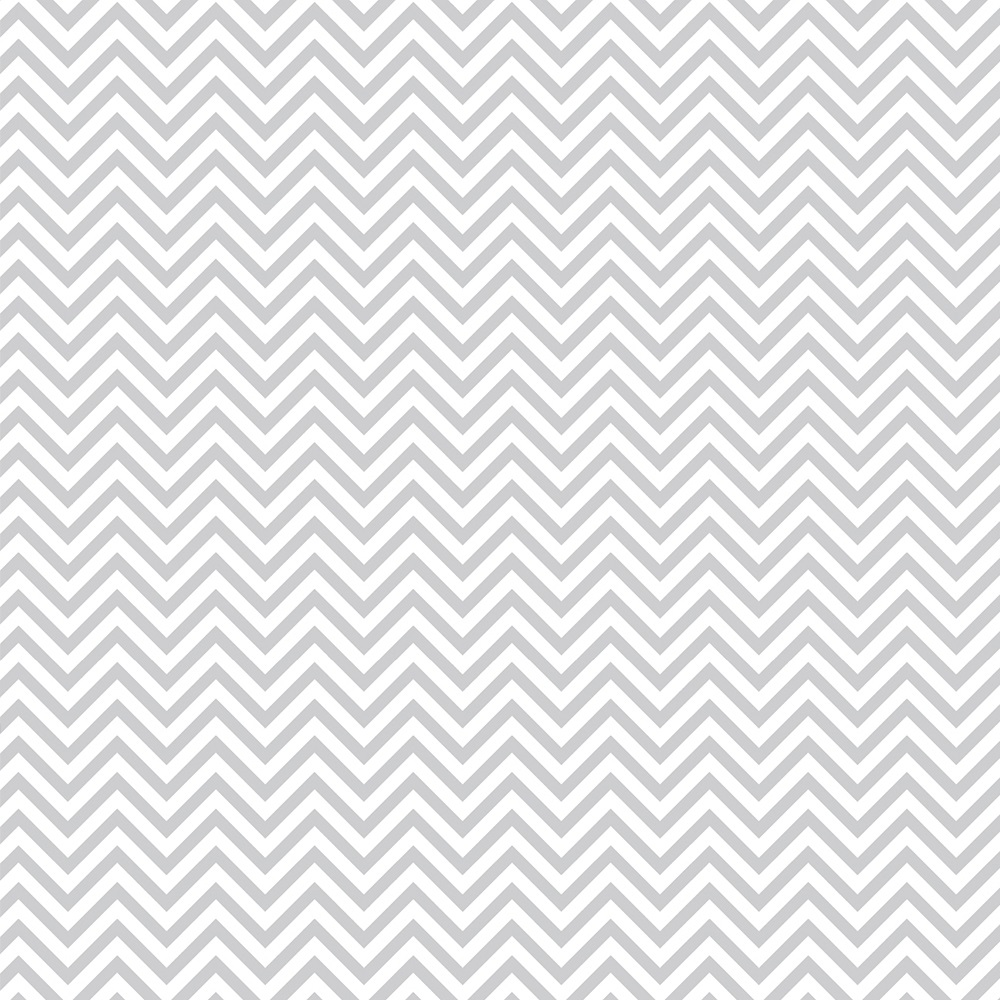 FABRICART - CHEVRON CINZA CANDY - 25cm X 150cm - Tecido Tricoline