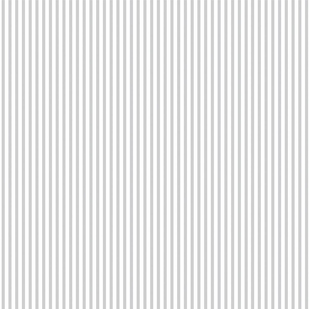 FABRICART - LISTRADO CINZA CANDY - 25cm X 150cm - Tecido Tricoline