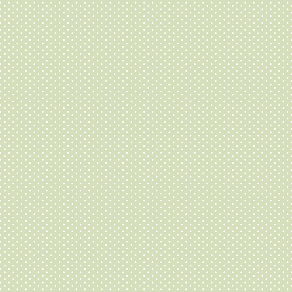 FABRICART - MICRO POÁ VERDE CANDY - 25cm X 150cm - Tecido Tricoline
