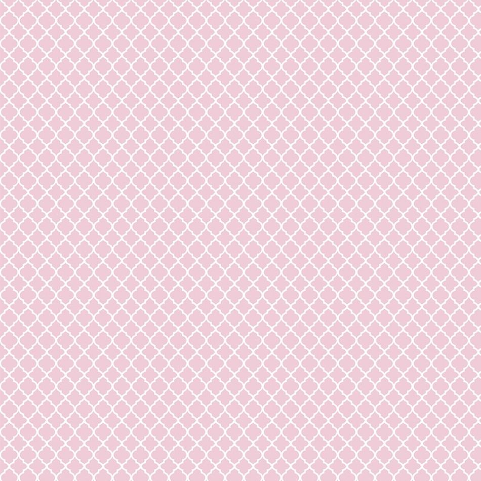 FABRICART - VITRAL ROSA CANDY - 25cm X 150cm - Tecido Tricoline