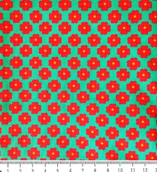 FERNANDO MALUHY - COLEÇÃO RENATA BLANCO - FLORAL - 25cm X 150cm - Tecido Tricoline