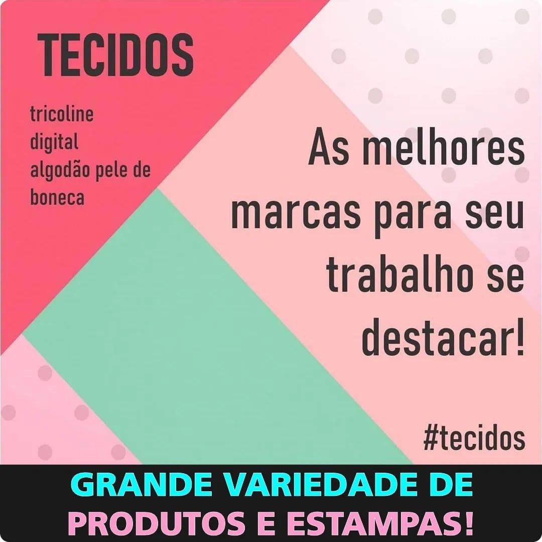 FERNANDO MALUHY - Confete Colorido Claro Coleção Joy - 25cmX150cm - Tecido Tricoline